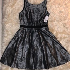 Jessica Simpson black and silver dress. NWT!